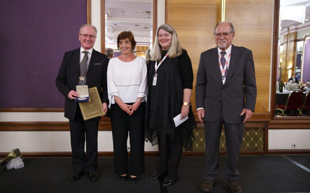 Awards conferred at the 25th FIAMC Congress